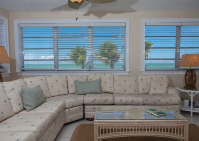 Interior - Living Room with Waterview